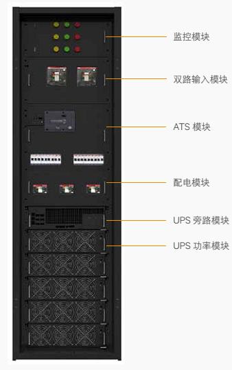维谛技术一体化供配电柜介绍